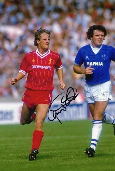 Paul Walsh, Liverpool & England, signed 12x8 inch photo.(2)